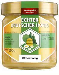 echter deutscher bienenhonig